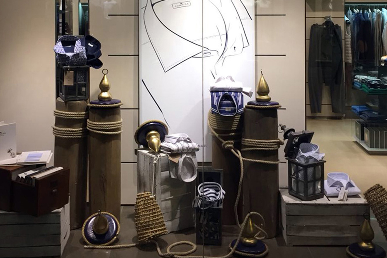 Treviso, MIOZZI dedica una vetrina marine a SONRISA