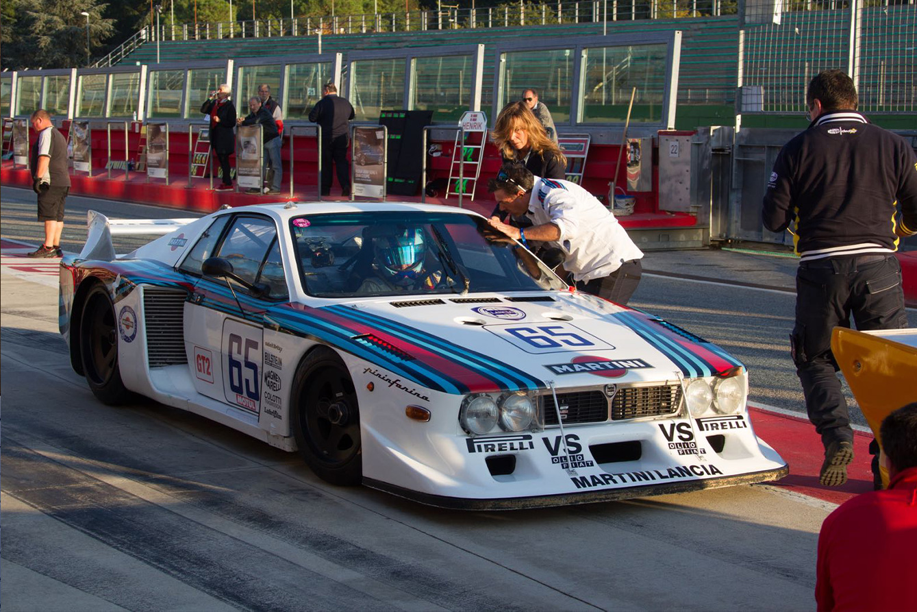 Mugello, Partner ufficiale di una squadra corse di auto storiche